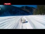 Большой марафон на упряжках по льду Мана