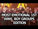 MOST EMOTIONAL 1ST WINS AND ENCORES! BOYGROUP EDITION