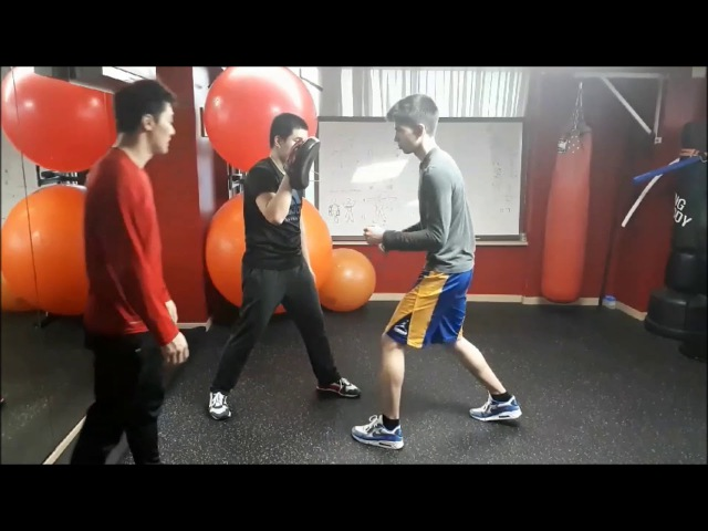 Use from your elbow to your fist - DK Yoo
