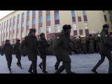 Курсанты из Анголы в российском военном ВУЗе. 1 место в конкурсе строевой песни