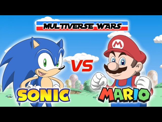 Super Mario vs Sonic the Hedgehog Animation - MULTIVERSE WARS