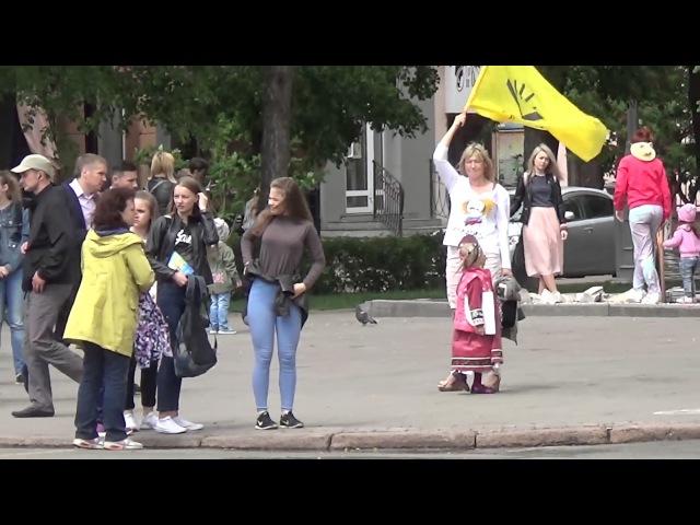 День России в Кемерово. Всем МОЛЧАТЬ. Провокаторы с полицией