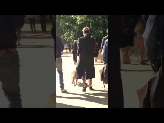 21.05.2017 - Билл, Том, Шермин, Девон и Симона, Парк Тиргартен, Берлин (Германия)