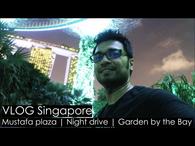 VLOG Singapore: Mustafa plaza | Night drive | Garden by the Bay | RummoRusso