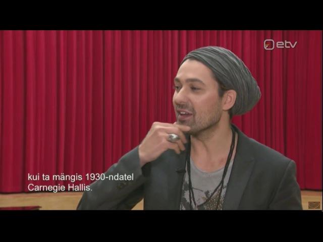 David Garrett - Interviewed by etv in Tallinn - 20.10.2017