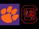 2017 College Football: (#3) Clemson vs. (#24) South Carolina (Full Game)