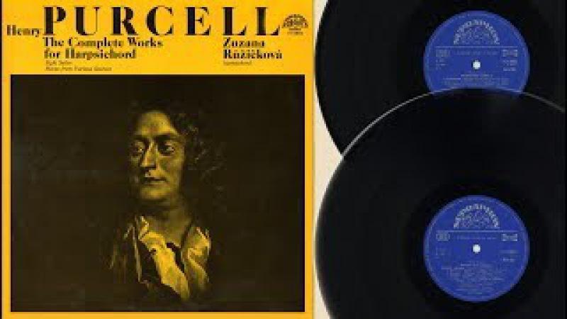 Zuzana Růžičková (harpsichord) Henry Purcell, The complete works for harpsichord