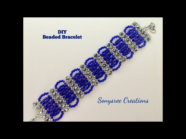 Bicone Seed Beads Bracelet