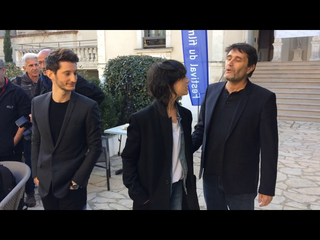 Pierre Niney et Charlotte Gainsbourg au Festival du film de Sarlat