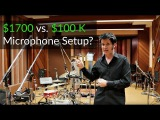 $1700 vs. $100000 Microphone Setup - Warren Huart Produce Like A Pro