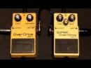 Boss OverDrive OD-1 Japan vs Boss SUPER OverDrive SD-1 Taiwan pedal comparison