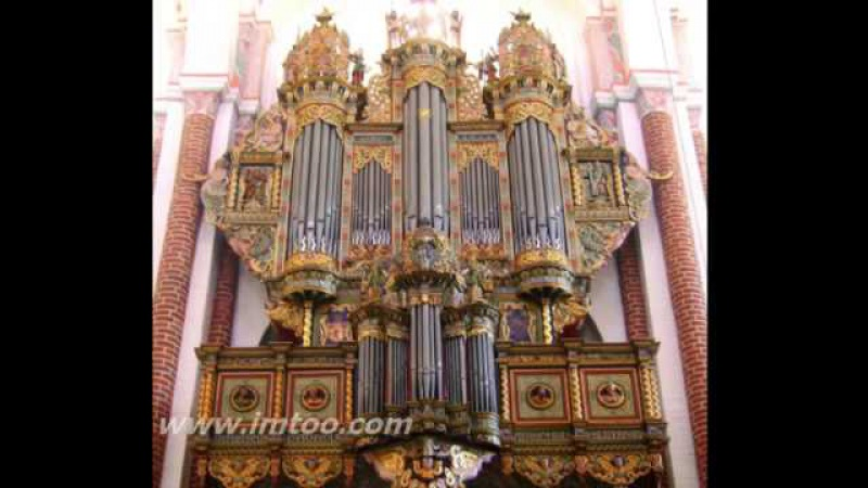 Nicolaus Bruhns Praeludium in E moll Piet Kee on the Raphaelis organ of Roskilde Cathedral