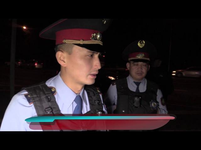 Полицейские остановили в Алматы ранее арестованную машину