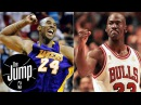 Scottie Pippen Theres no way Michael Jordan could outshoot Kobe Bryant The Jump ESPN