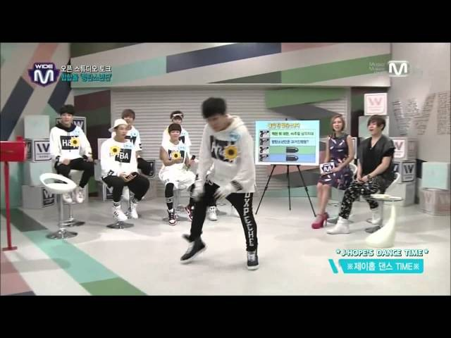 [ENG SUB] Bangtan Wide News J-Hope's Dance Cut