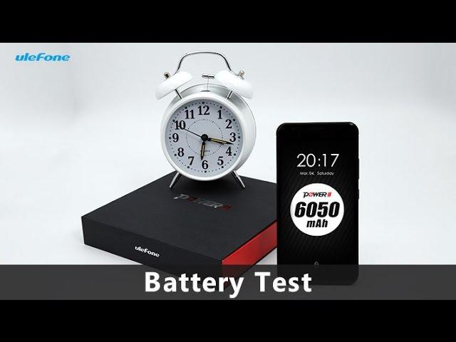 Ulefone Power 2 6050mAh Battery Heavy Drainage Test