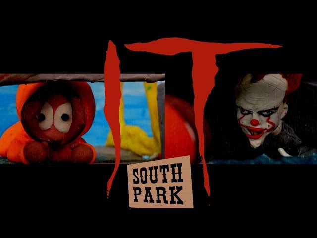 IT 2017 parody - South Park Kenny Meets Pennywise (Stopmotion)