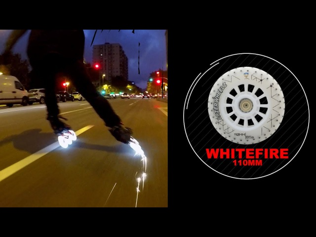 WHITEFIRE Light and Spark wheels - Freeskating in Barcelona