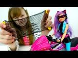 Видео для девочек. Тереза в погоне за кошкой Габриэль! Видео куклы #Барби