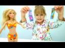 Мультики для девочек Барби выбирает купальник! Игры одевалки. Видео про куклы