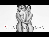 Gigi Hadid and model friends break the internet posing naked in Stuart Weitzman ad
