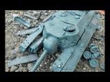 Т 95 ЧЕРЕПАХА и черепашки ниндзя  полный обстрел