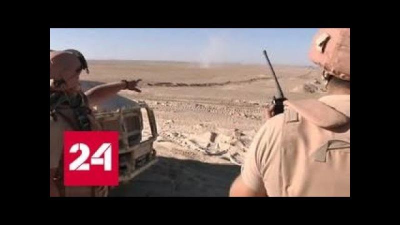 Гуманитарную помощь в Дейр-эз-Зор везут под прикрытием Су-25