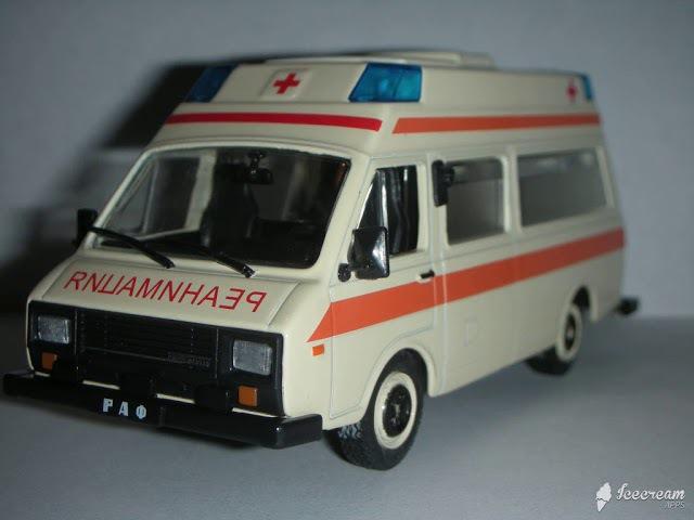 1989 РАФ-22038; РАФ-2914; ГАЗ-3307 (14.11.2017 г.)