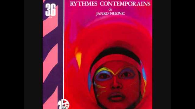 """Rythmes Contemporains"" (Montenegro, 1974) de Janko Nilovic"