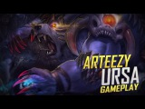 Arteezy playing Ursa (Gameplay)