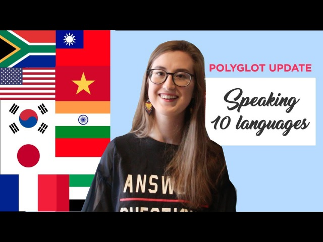 South African Polyglot speaking 10 languages