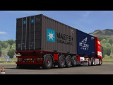 Ets2 1.27...PDT...Krone Container 4axe v1.27