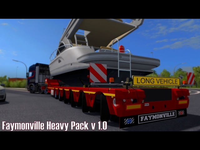 ETS2 v1 27 I Mod ★ Faymonville Heavy Pack v 1 0 Deutsch HD