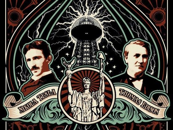 Томас Эдисон против Николы Теслы