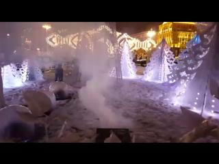 Анечка и Московская зима
