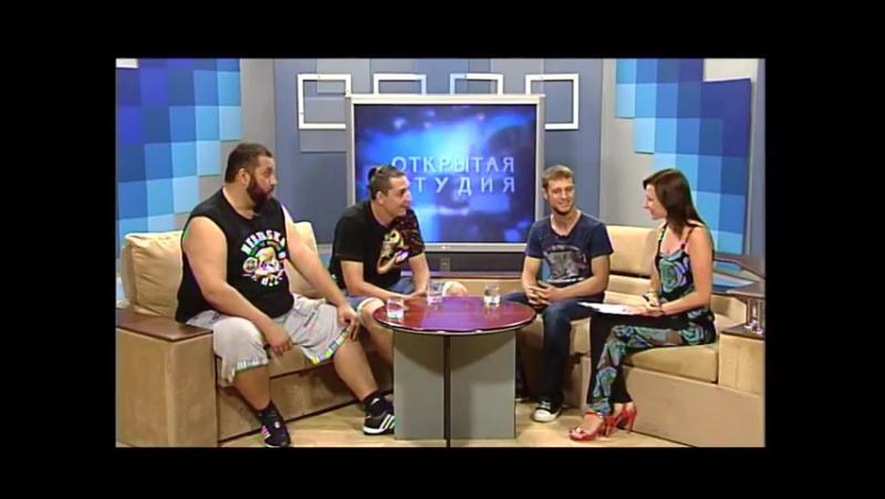 Донецкая сказочная панк-рок группа «Спектакль Джо». Открытая студия