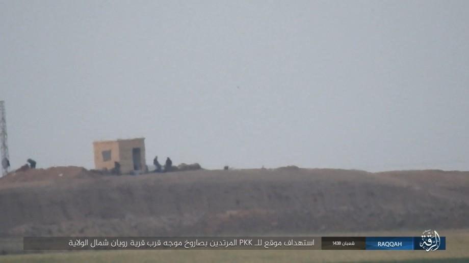 В Сирии засняли жесткое попадание ПТУРа «бородачей» в толпу курдских солдат