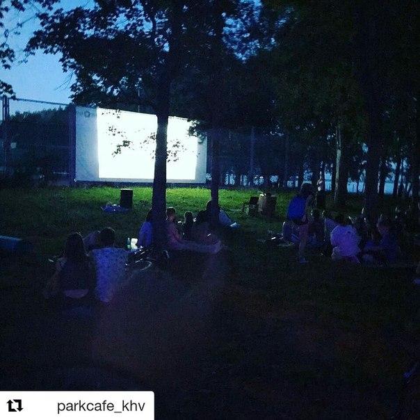 Сегодня состоится уличный кинопоказ «Доброе кино»