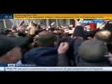 Украина В Керчи над зданием меррии поднят российский флаг Крым Майдан 24 02 2014