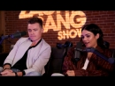 Ванесса Хадженс и Шон Хук дают интервью для Zach Sang