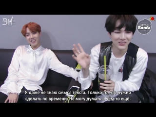 [rus sub][bangtan bomb] s-o-p-e debut stage practice 'お疲れさまでした' (thank you for your hard work)
