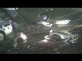 Появилось видео скручивания номеров со сбившего полицейского «Мерседеса»