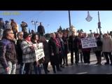 Афины, Синтагма Катюша 24 декабря 2016 Наш Песенный Флешмоб Song flashmob