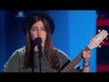 Евгения Романес исполнила песню «Wicked Game» на слепых прослушиваниях - Голос - Сезон 6