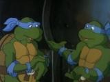 Черепашки Мутанты Ниндзя 4 Сезон 15 Серия «Путешествие на машине времени» (1987)