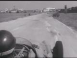 Хуан-Мануэль Фанхио тестирует Maserati 250F