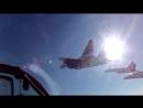 Полет на МиГ-29 пилотажная группа Стрижи