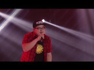 Аяс Дамдын (студент ВСГИК) - Международный конкурс исполнителей эстрадной песни Белый месяц - 2017)