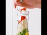 Очень простой способ сделать красивый декор для вашей кухни.