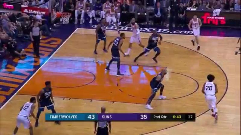 Финикс Санз 118 : 110 Миннесота Тимбервулвз. Обзор(Баскетбол.НБА 12.11.2017)